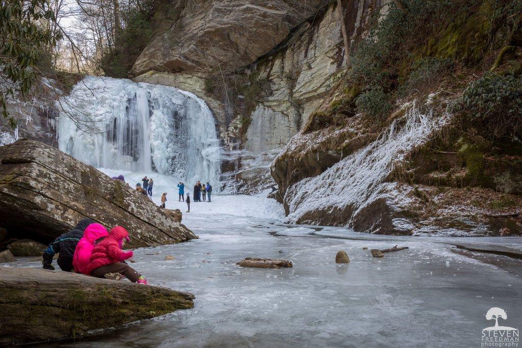 Winter Looking Glass Falls