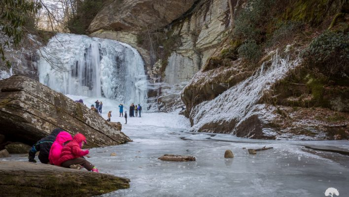 Top Frozen Waterfalls to visit in the Blue Ridge