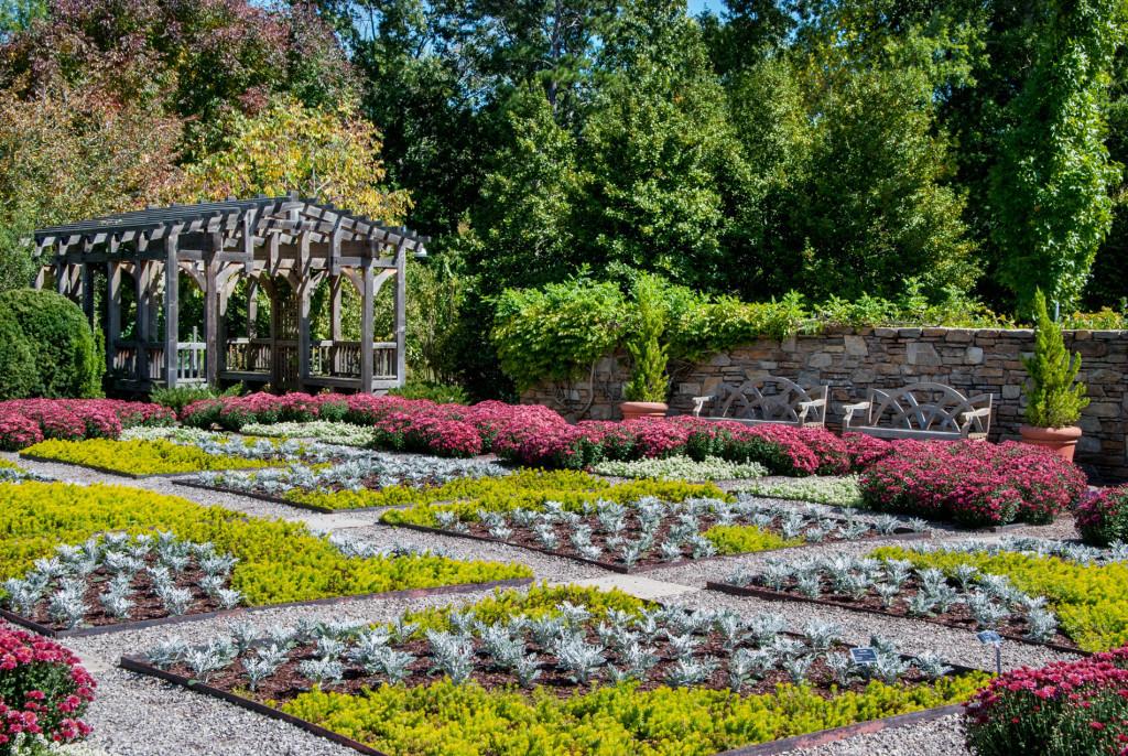NC Aboretum Quilt Garden