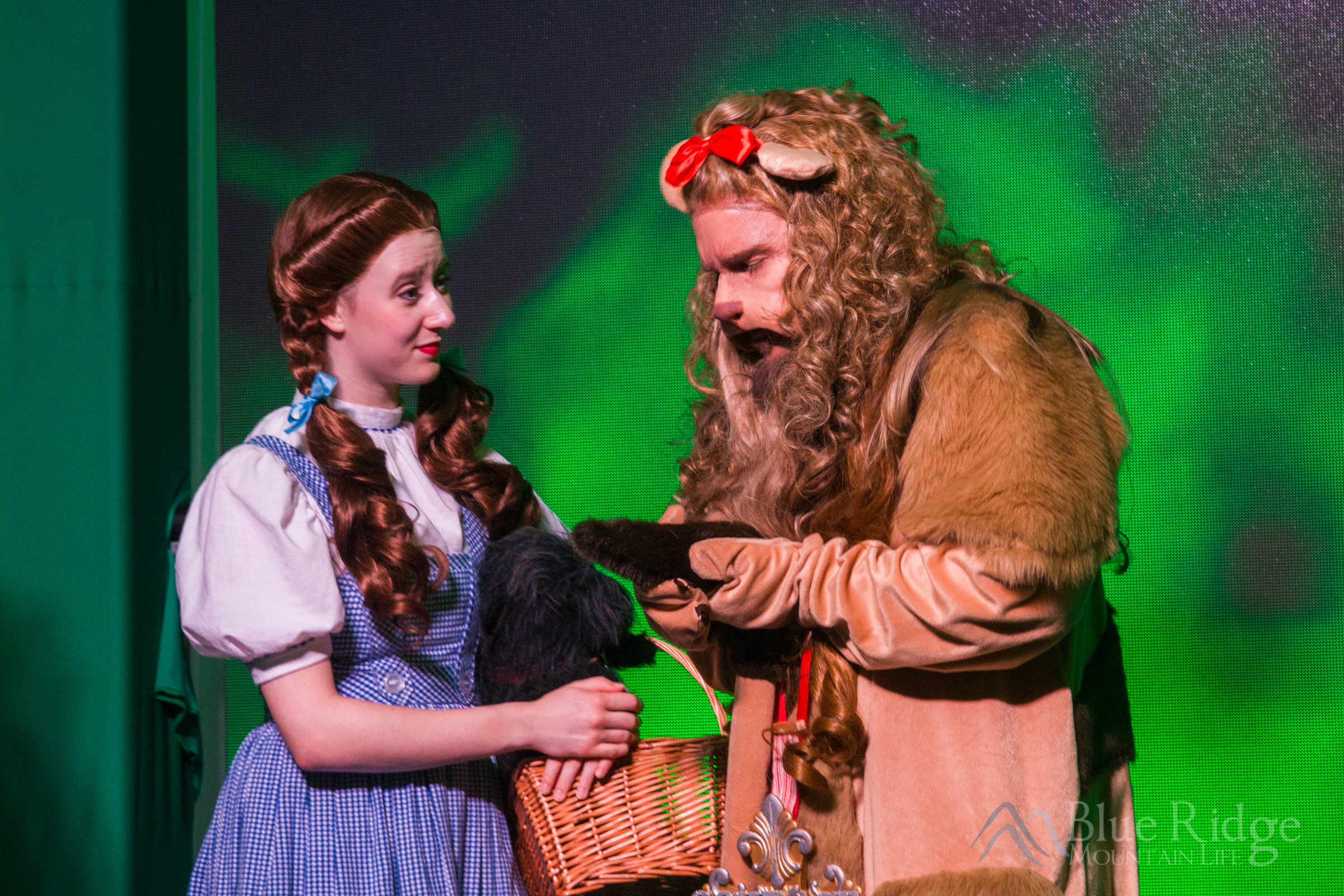 Land of Oz - Cowardly Lion and Dorothy