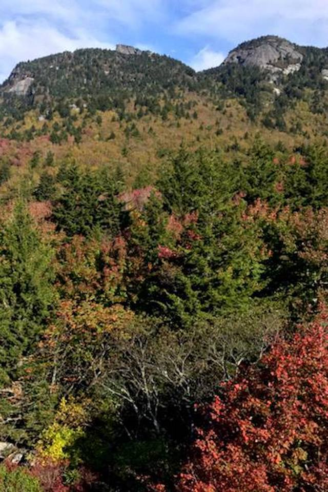 Grandfather Mountain Fall