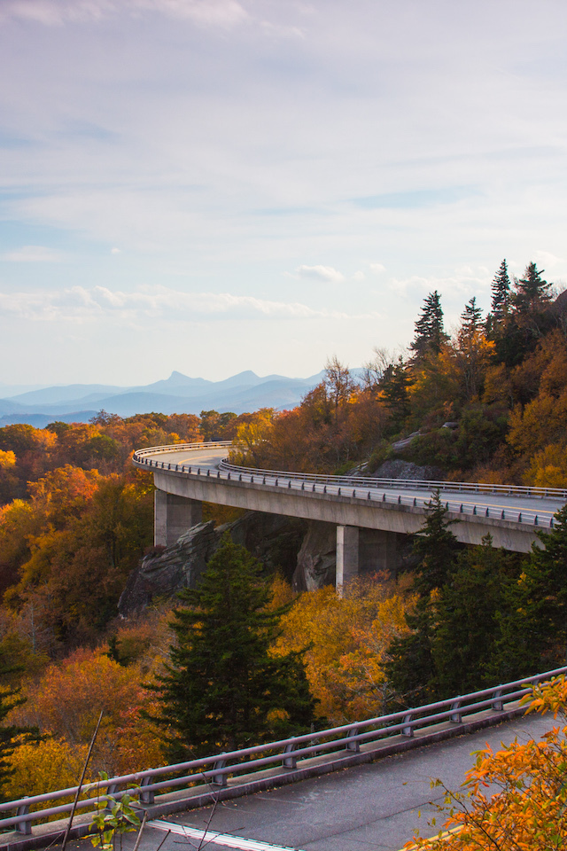 Fall Linn Cove Viaduct