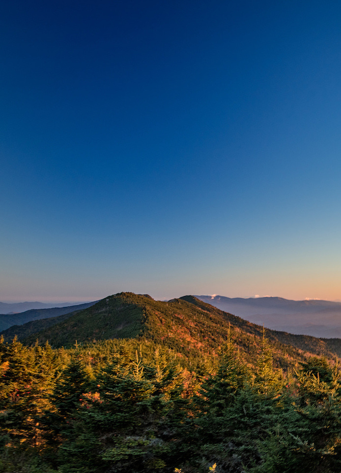 Fall at Mt. Mitchell Blue Ridge Parkway