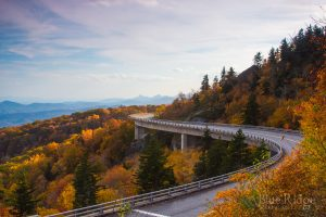 Fall Color at Linn Cove Viaduct