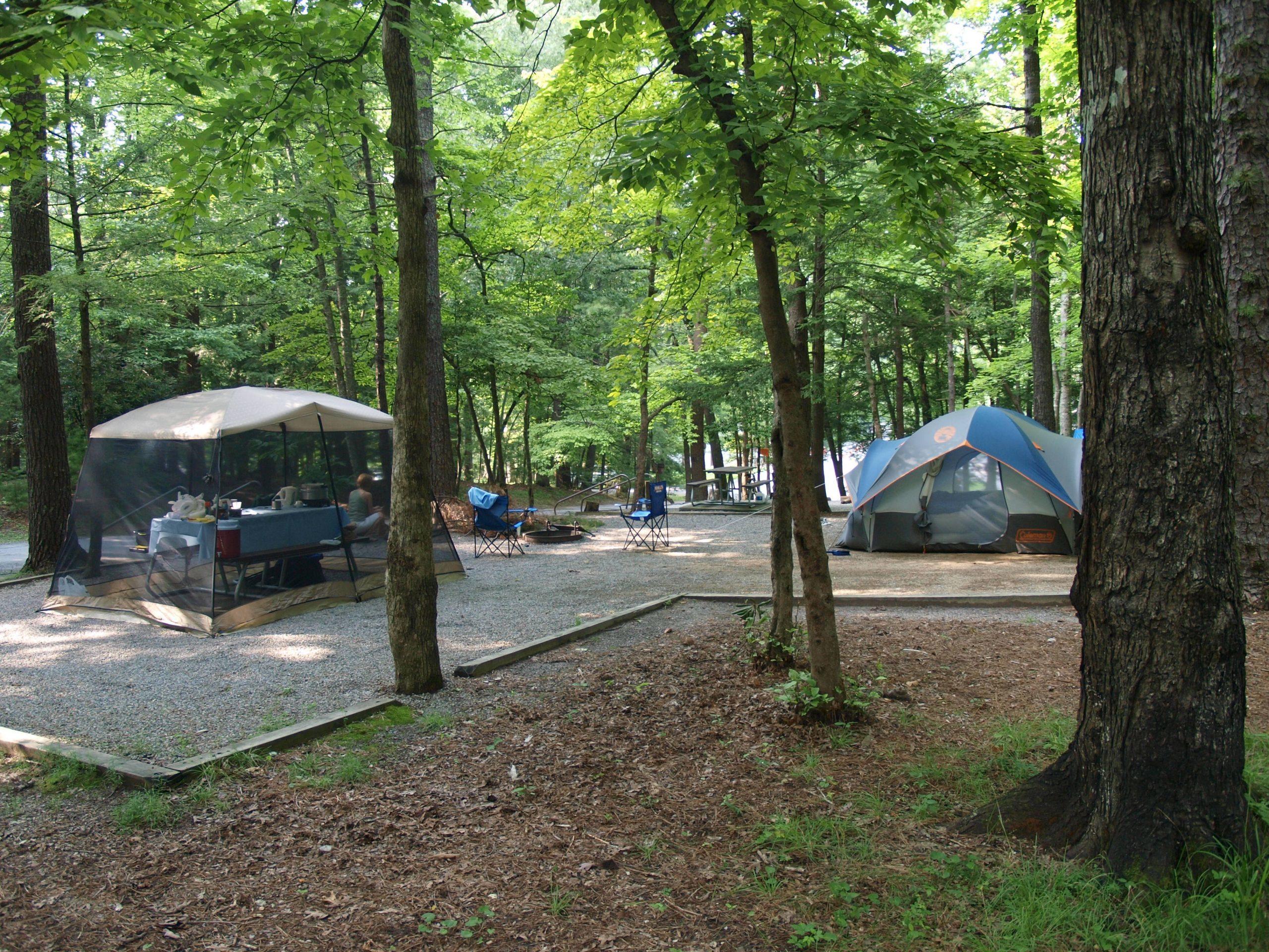 Campsite at Cades Cove