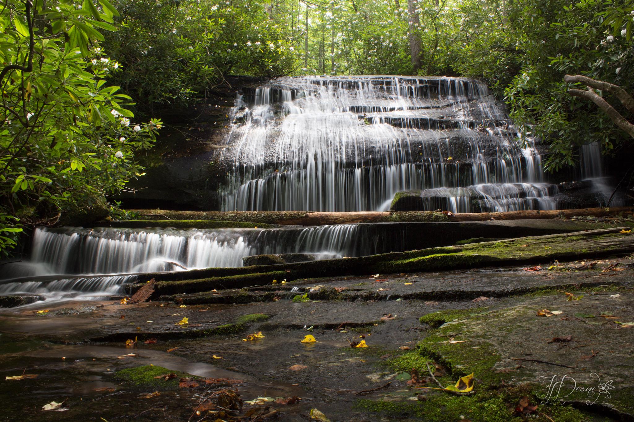 Grogan Creek Falls NC