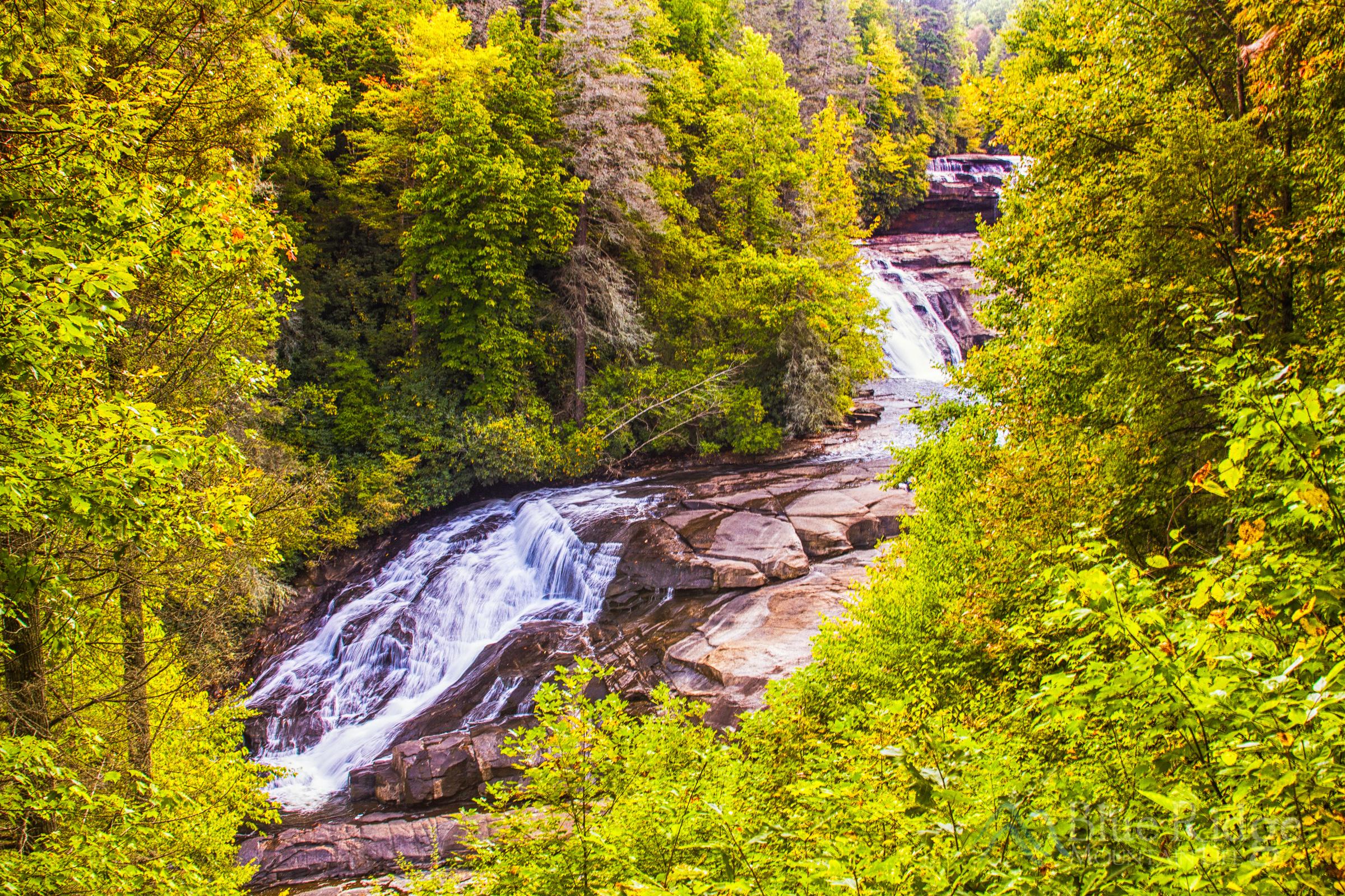 Fall at Triple Falls, Dupont State Park