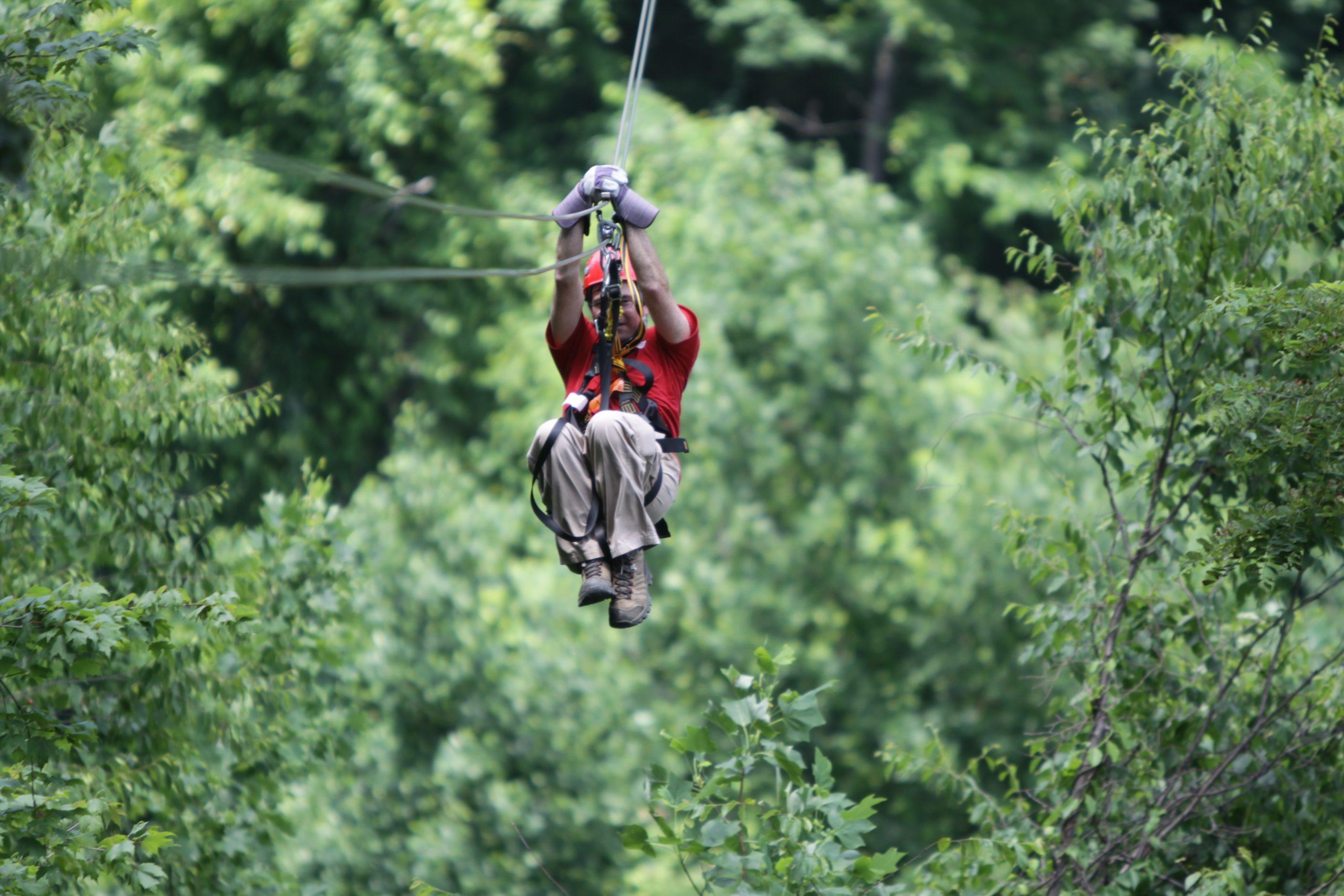 Asheville NC Ziplining
