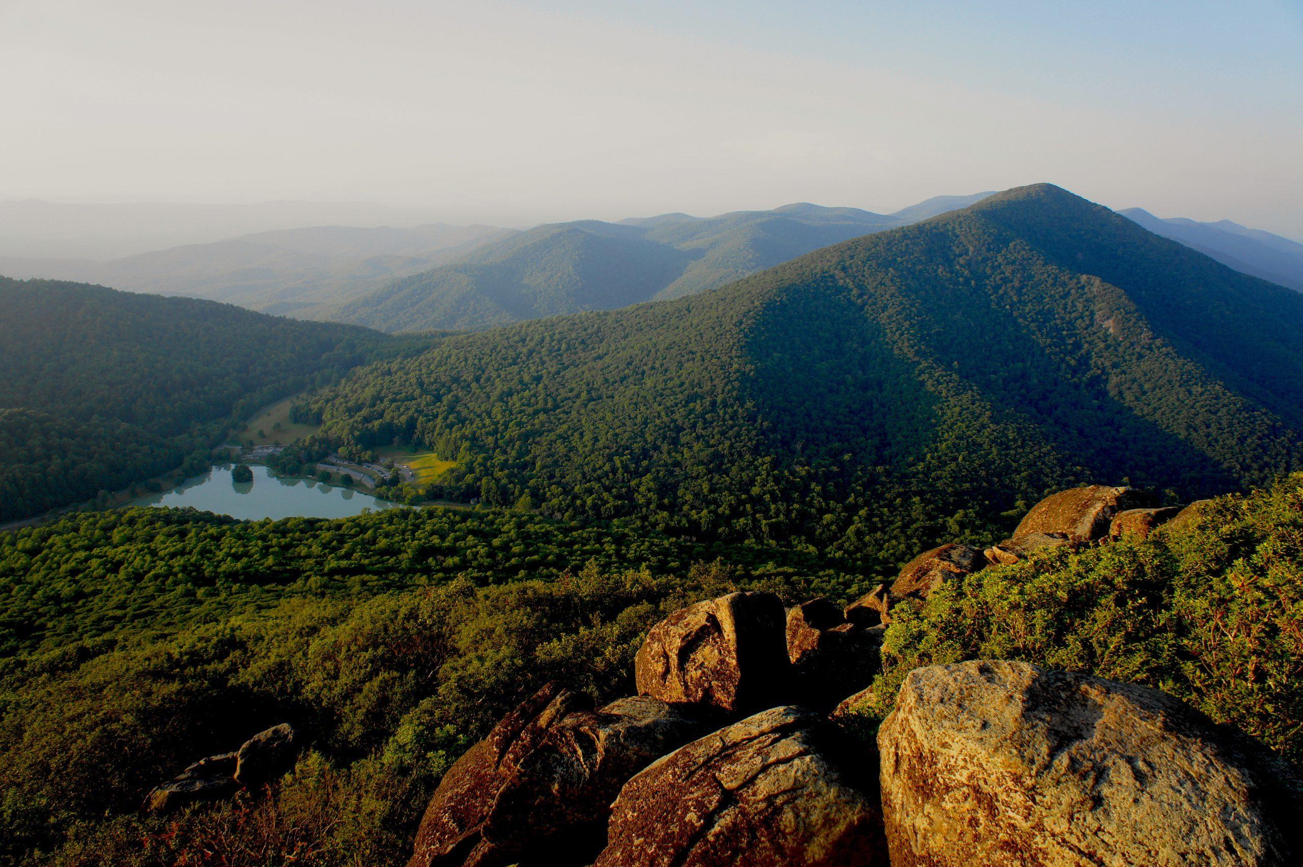 Sharp Top Trail Virginia