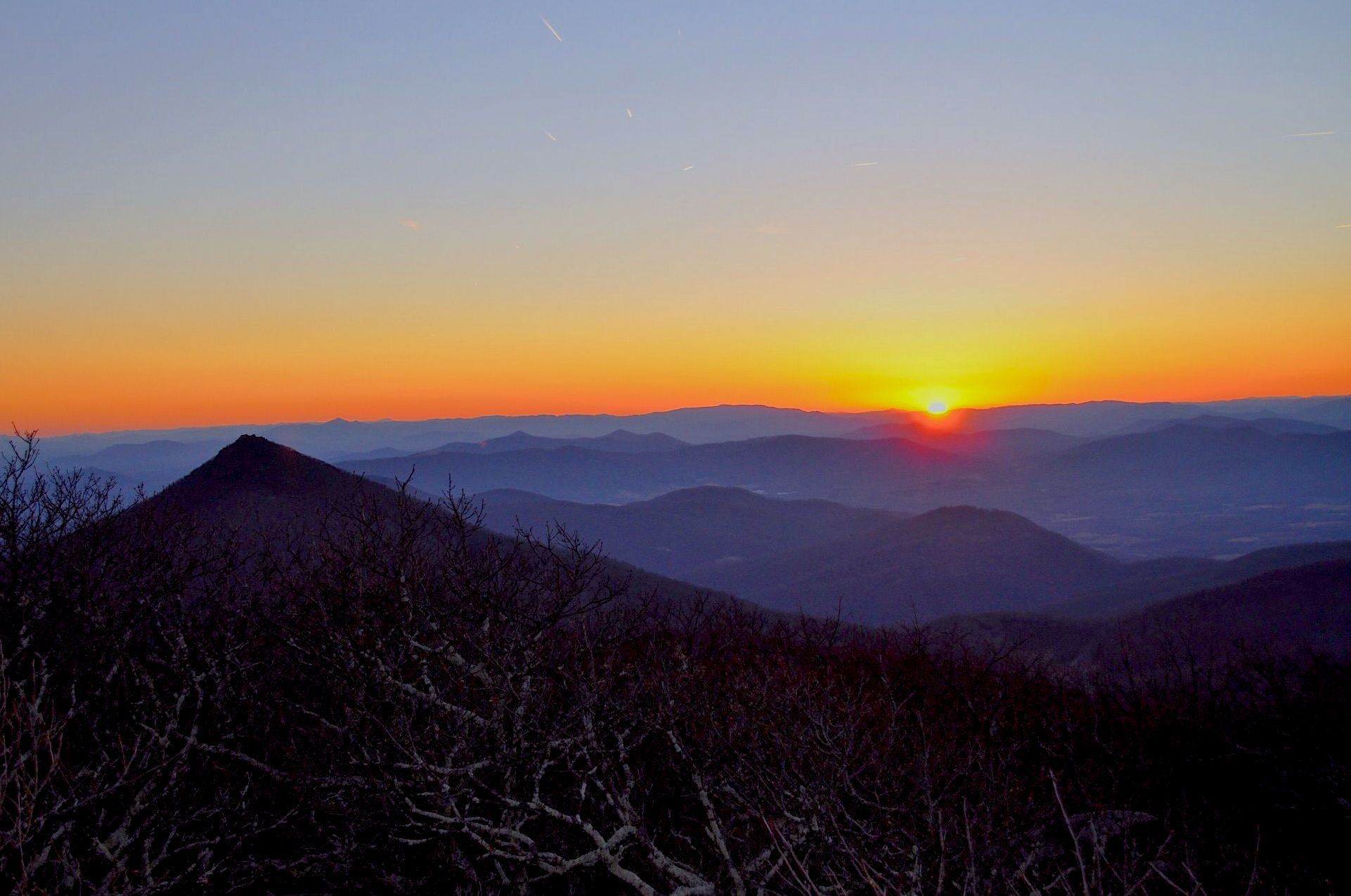 The Pinnacle - Flat Top Mountain