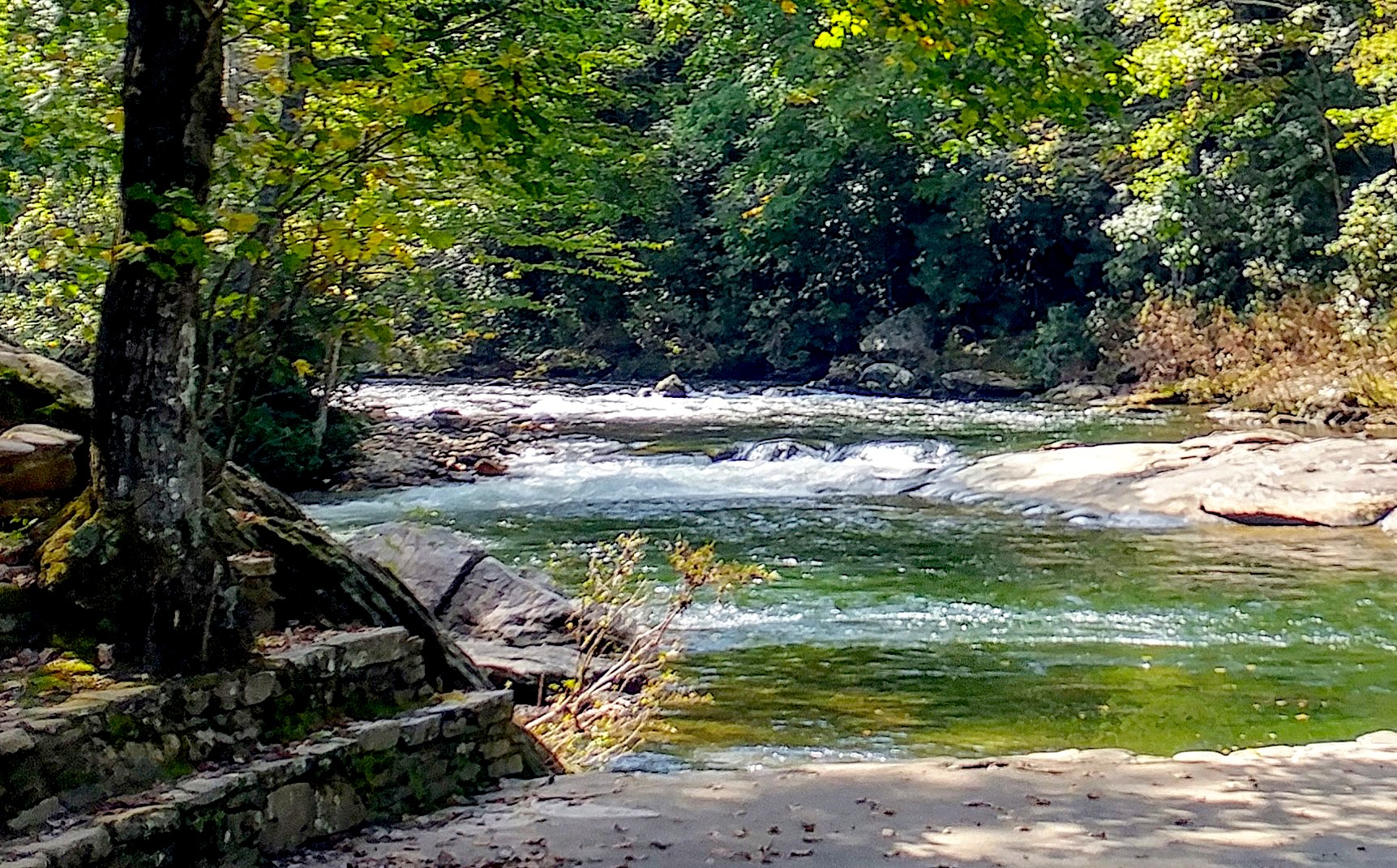 Carolina Hemlocks Recreation Area NC