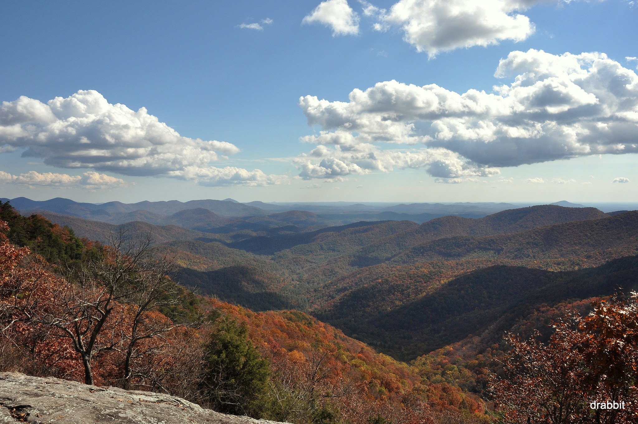 View from Preacher's Rock, Georgia