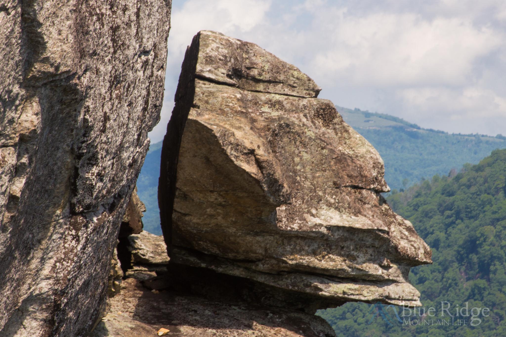 Devil's Head at Chimney Rock State Park