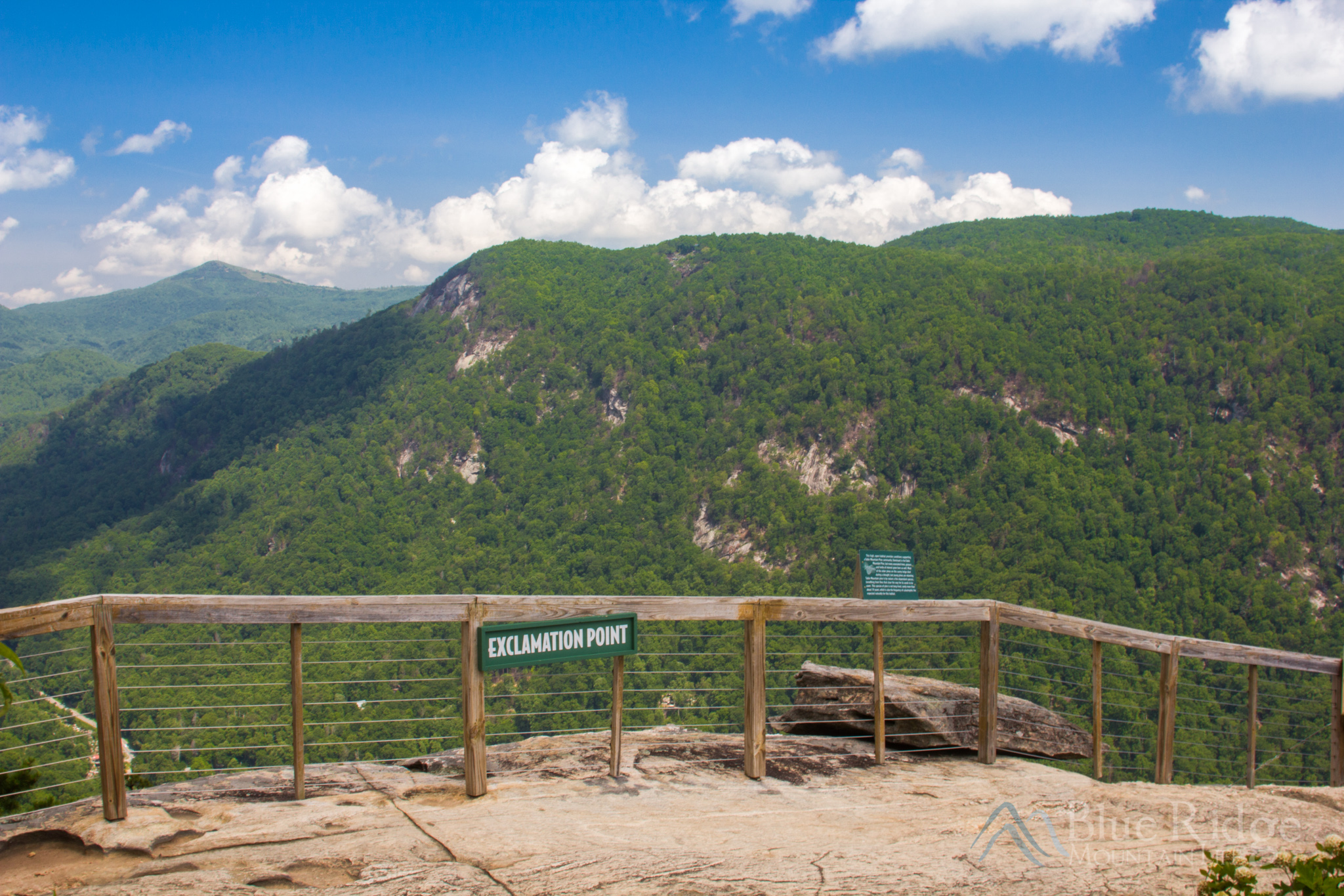 Exclamation Point, Chimney Rock State Park