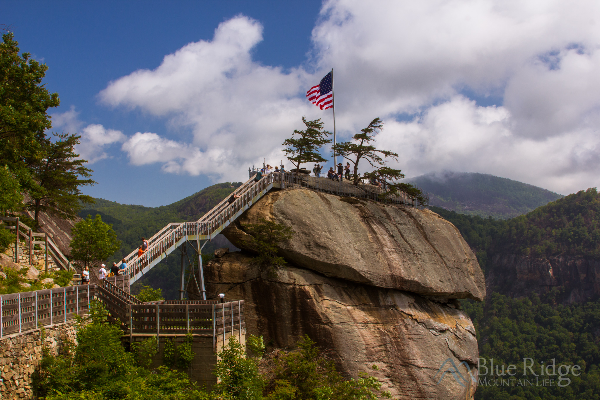 The Chimney, at Chimney Rock State Park