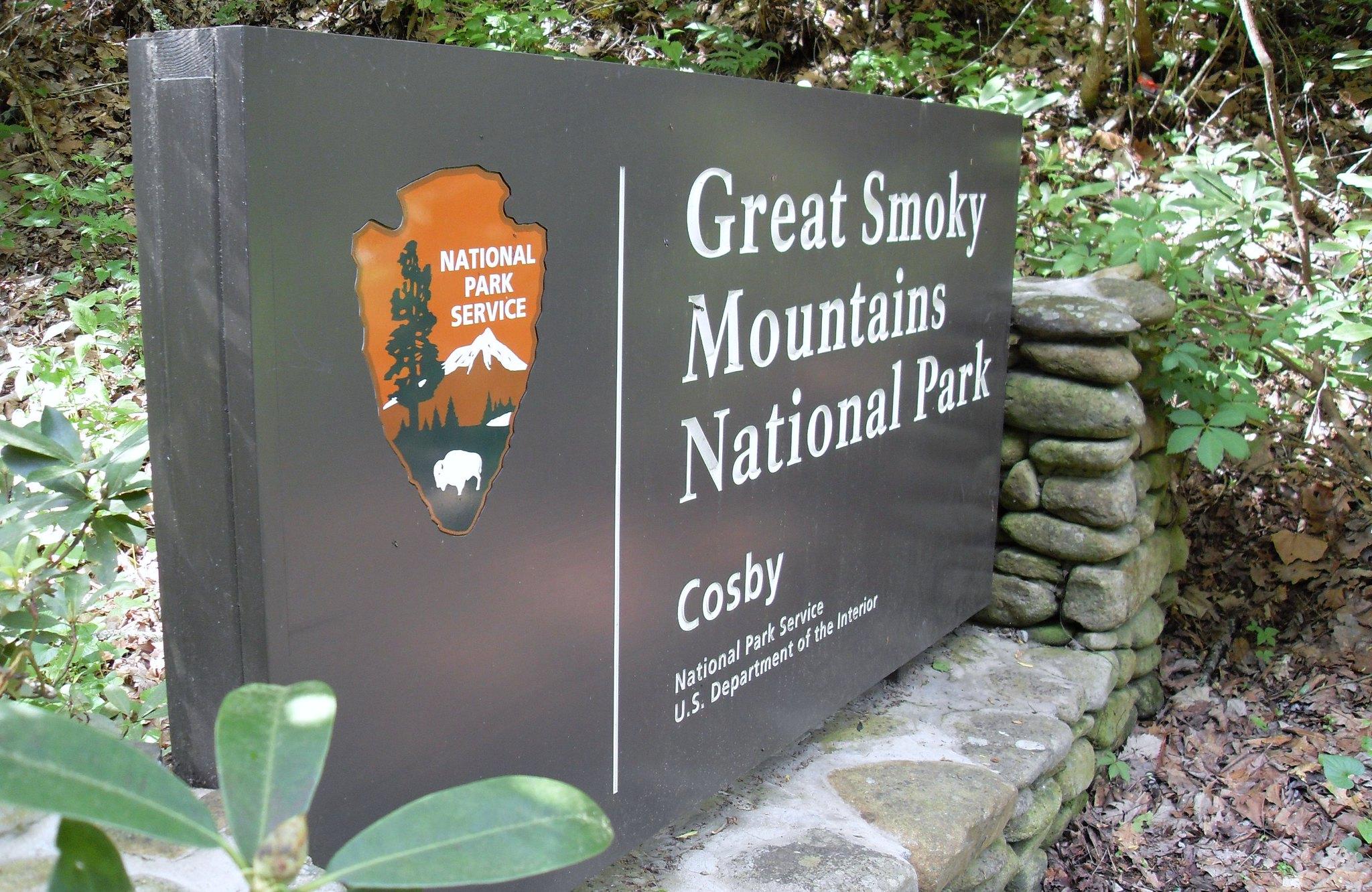 Townsend TN Park Entrance