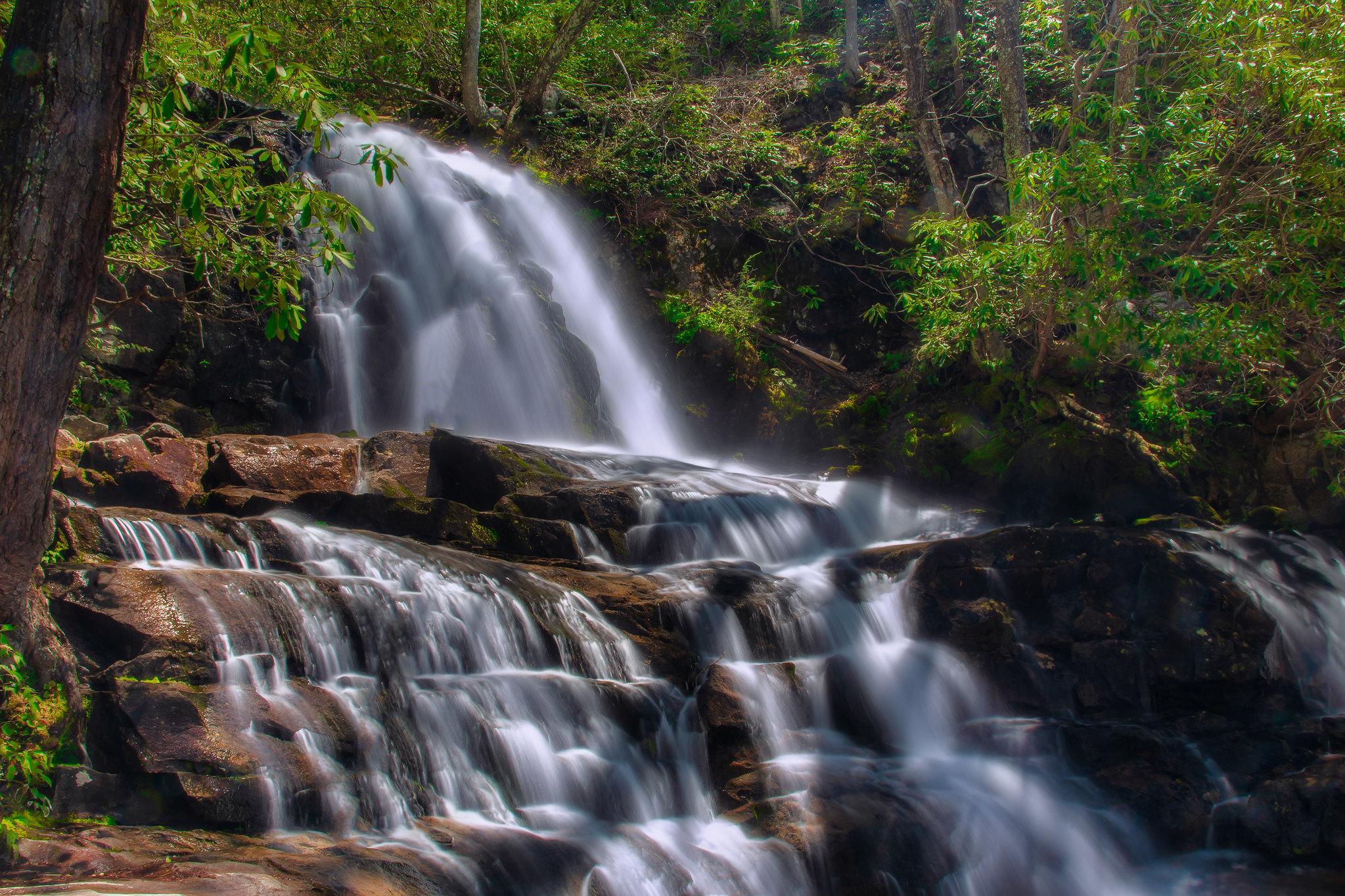 Laurel Falls Great Smoky Mountains National Park