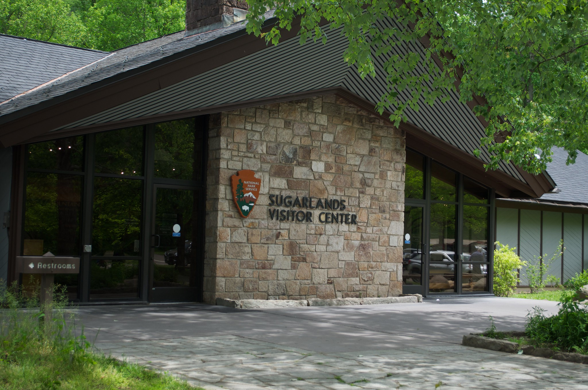 Sugarlands Visitor Center Great Smoky Mountains National Park