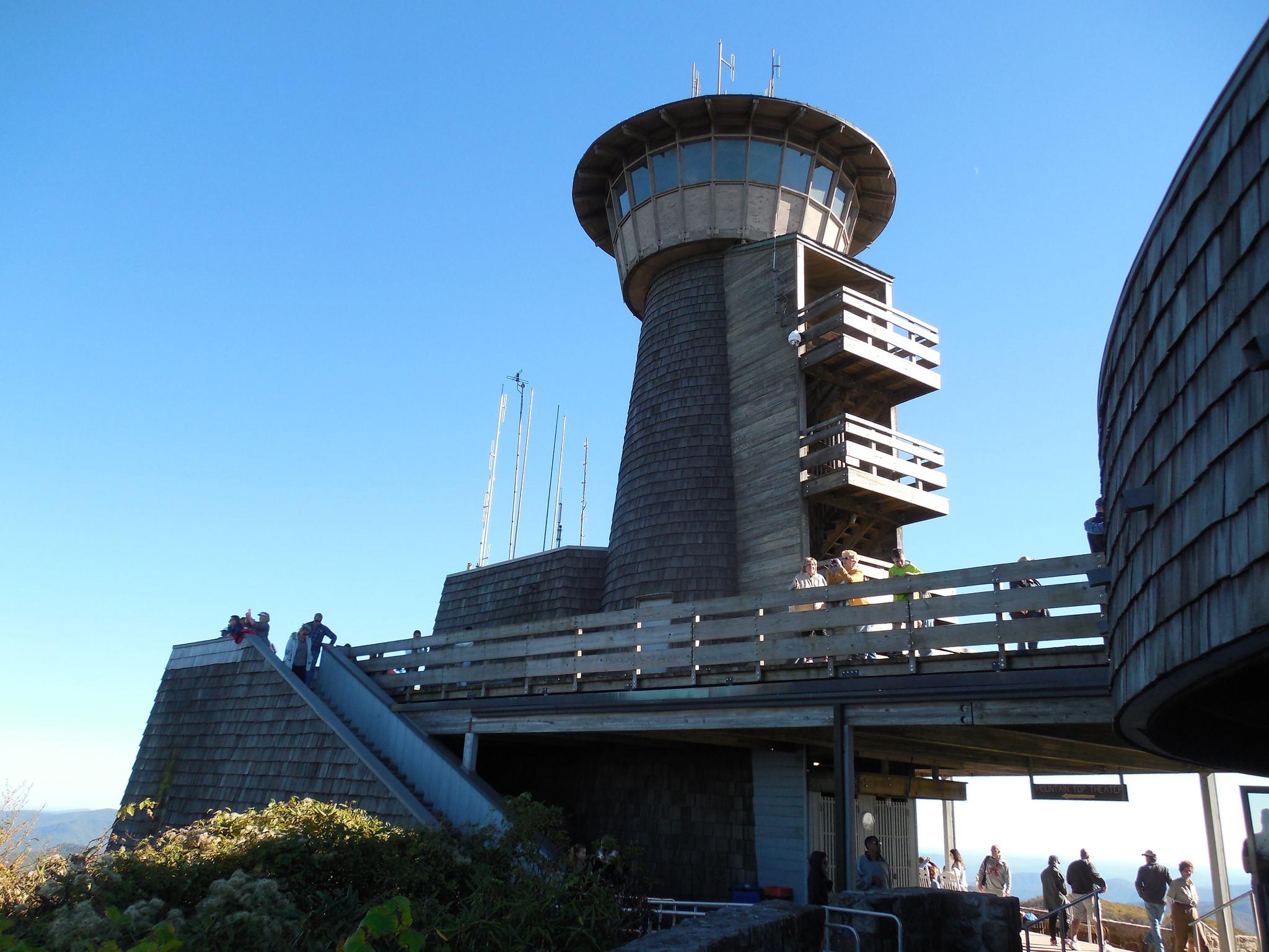 Brasstown Bald GA Tower