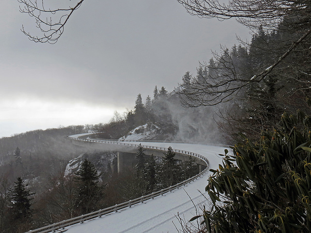15 Remarkable Photos Of Winter On The Blue Ridge Parkway