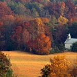 Beautiful Historic Smoky Mountain Churches