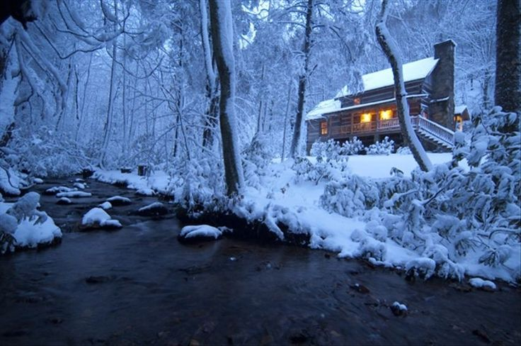 gorgeous blue ridge cabins in the snow blue ridge. Black Bedroom Furniture Sets. Home Design Ideas