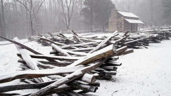 12 Simply Beautiful Blue Ridge Winter Photos
