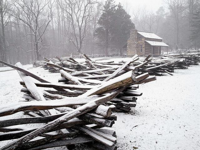 12 Simply Beautiful Blue Ridge Winter Photos Blue Ridge